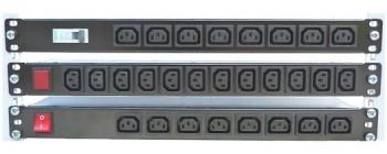 """pdu multiprese rack per armadi 19"""", vde c13, c19"""
