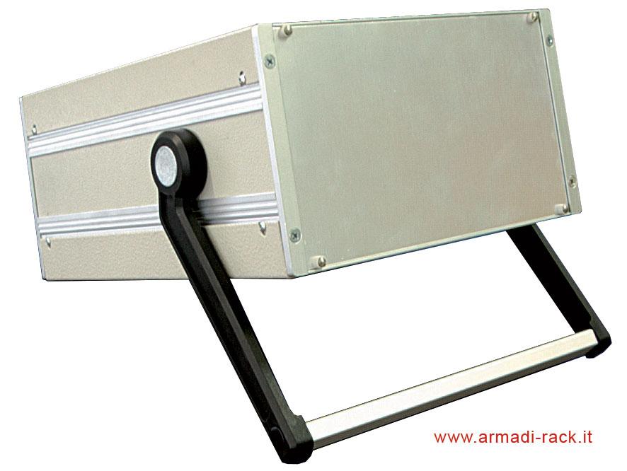 contenitori e custodie per elettronica modulari in alluminio