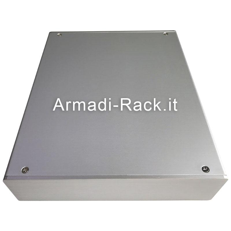 custodia in alluminio estruso