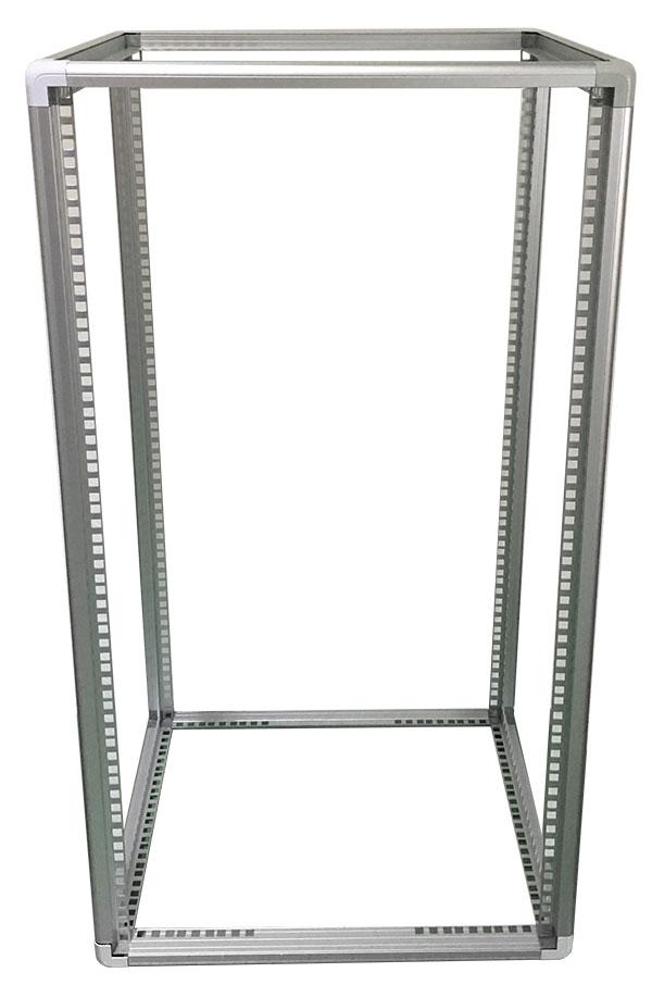 """telai rack 19 pollici per contenitori elettronica, open frame in alluminio per 19"""" fino a 21U"""