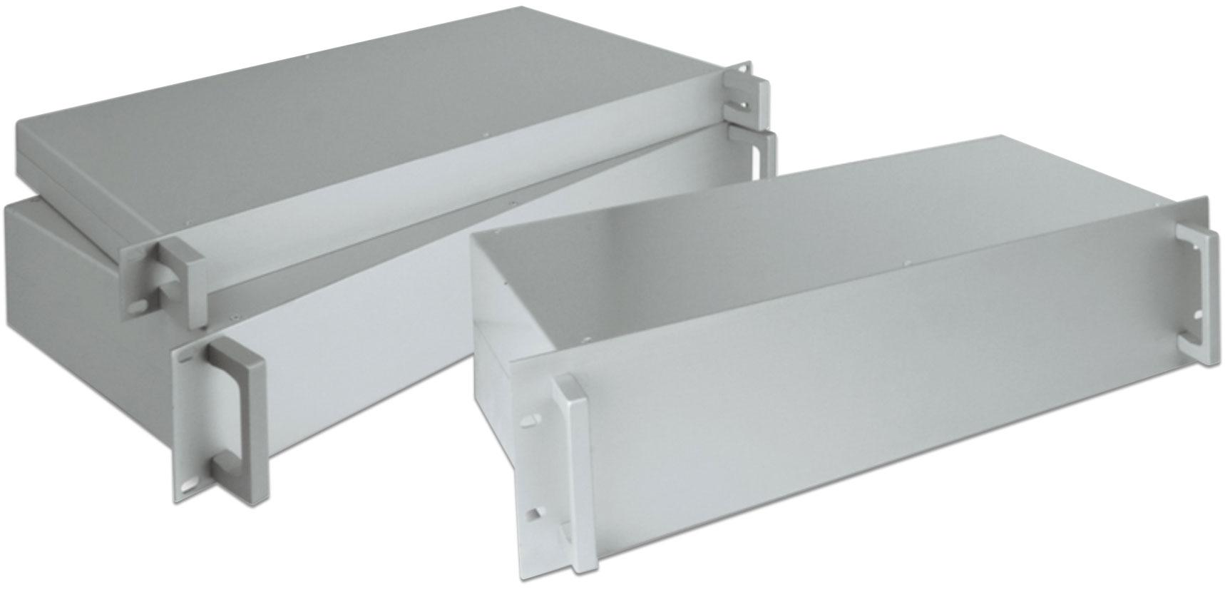 cassetti in alluminio per rack 19 pollici