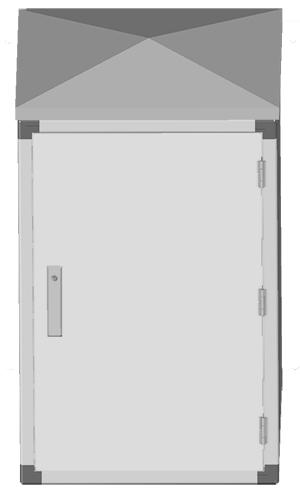 armadi rack da esterno, ip 55, ip65, ip66