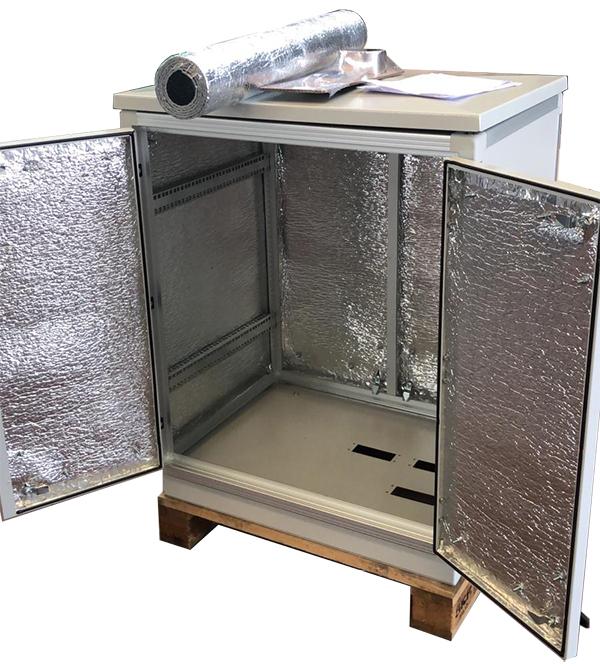 Armadio rack coibentato ip 55