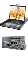 networking per armadi rack, pannelli patch, switch, ups, patch cord e bretelle