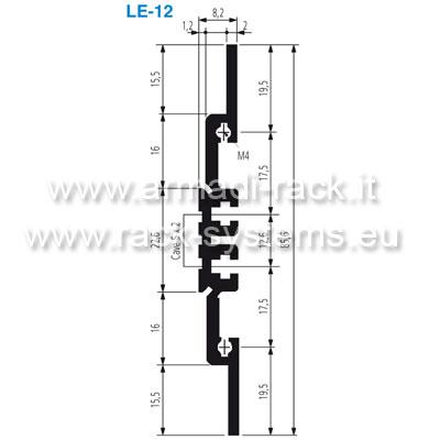 LE-12-29 - PARETE LAT.2HEX358