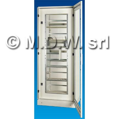 Porta con telaio 33 unità rack 19