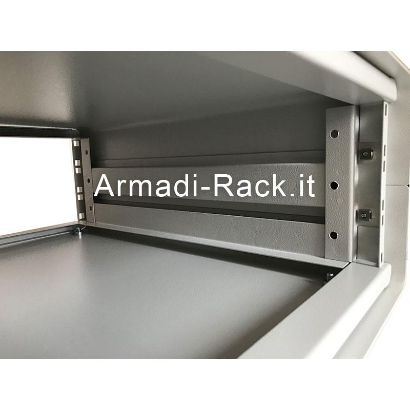 Contenitore da scrivania alto 4U, largo 60TE (361mm), profondo 492 mm