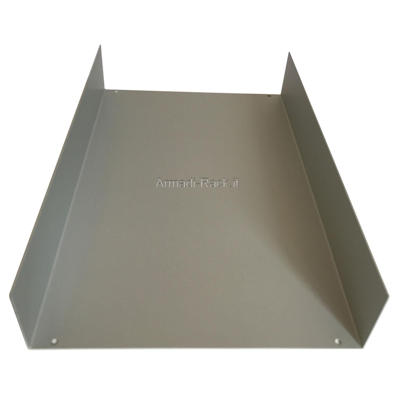 Custodia in alluminio doppio guscio a 'C' uniti da frontale e posteriore H=130, L=242, P=357 mm