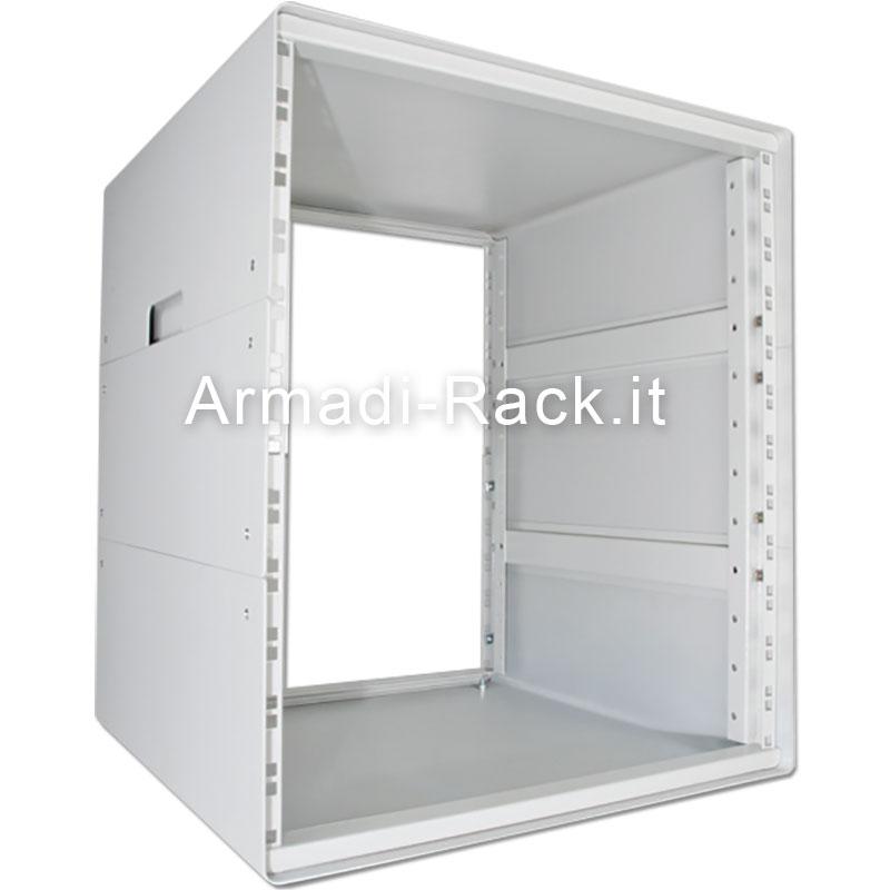 Contenitore da scrivania alto 12U, largo 42TE (270mm), profondo 492 mm