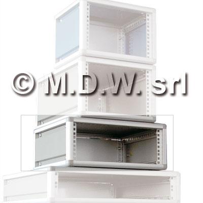 Contenitore per elettronica largo 60te , desktop cabinets, MODULRACK 15U 707 X 402 X 259