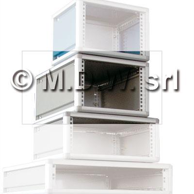 Contenitore per elettronica largo 42te , desktop cabinets, MODULRACK 8U 397 X 311 X 259