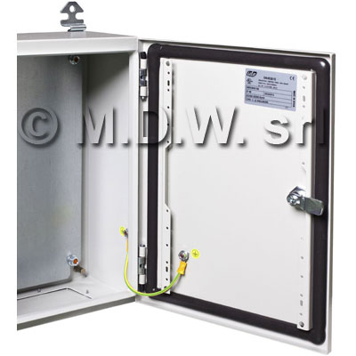 Armadio certificato ATEX IP66, NEMA 1,12,4 misure (mm) 300X200X150 PO