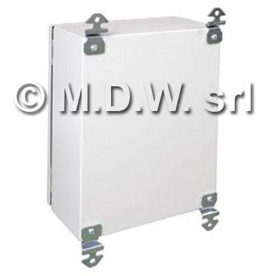 Armadio certificato ATEX in acciaio INOX, IP66, NEMA 1,12,4 misure 400X300X200 304L
