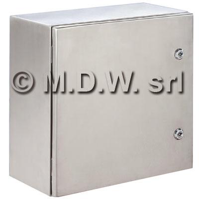 Armadio certificato ATEX in acciaio INOX, IP66, NEMA 1,12,4 misure 600X600X250 304L