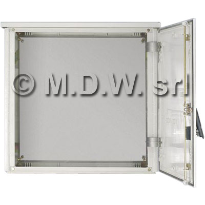 Armadio in poliestere, IP55, dimensioni mm. 1250X750X300 (vuota)