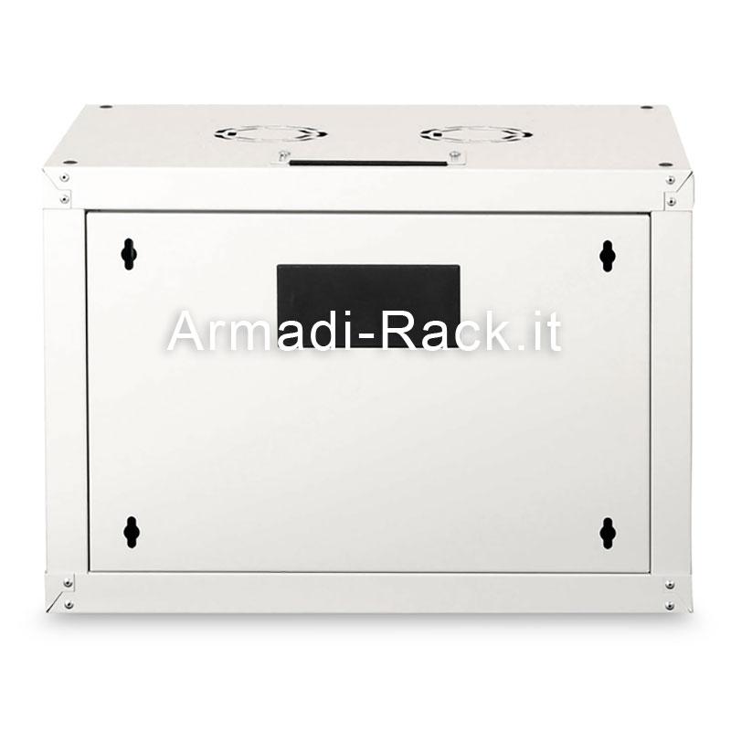 Armadio 7 unita' da muro linea soho (a)420 x (l)600 x (p)450 mm. colore grigio chiaro