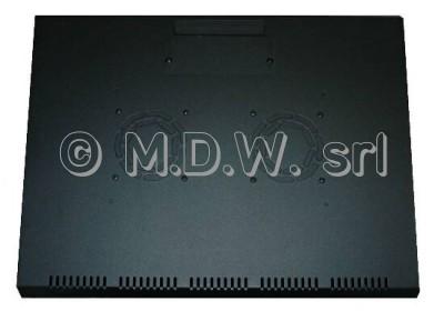 Armadio 9 unita' da muro linea soho (a)509 x (l)600 x (p)450 mm. colore nero