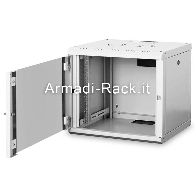 Armadio 9 unita' da muro linea soho (a)509 x (l)600 x (p)450 mm. colore grigio chiaro