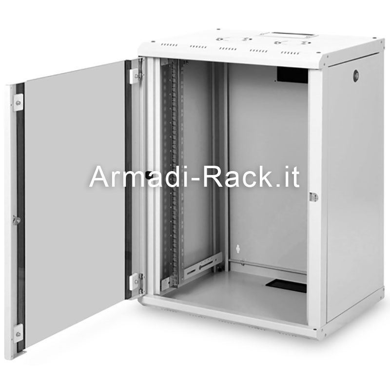 Armadio 16 unita' da muro linea soho (a)820 x (l)600 x (p)600 mm. colore grigio chiaro