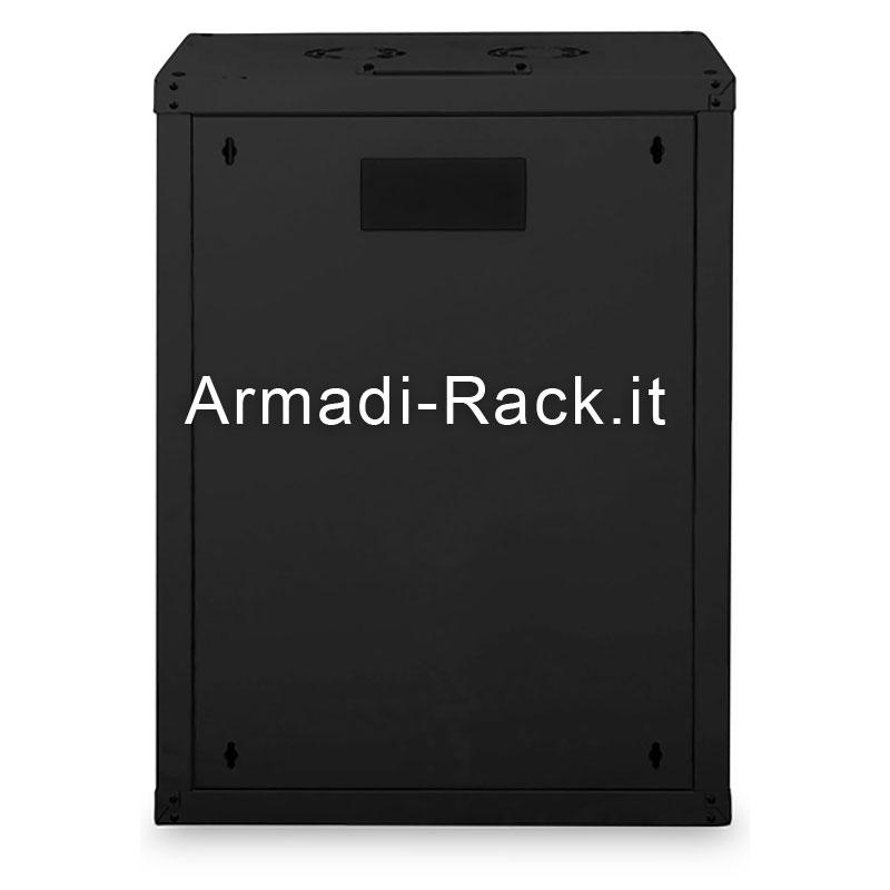Armadio 16 unita' da muro linea soho (a)820 x (l)600 x (p)450 mm. colore nero
