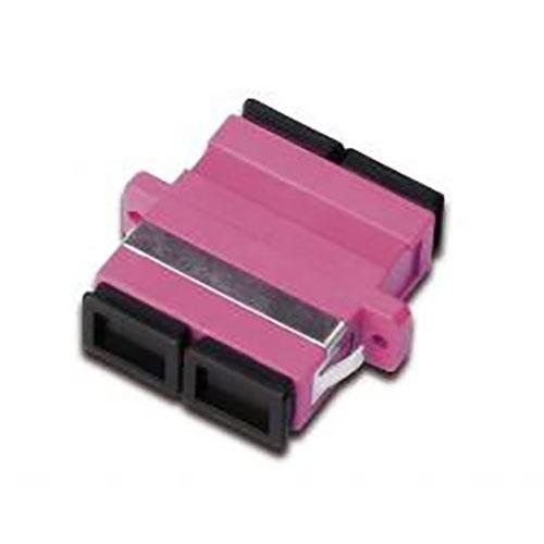 Adattatore sc-sc duplex per fibra ottica om4