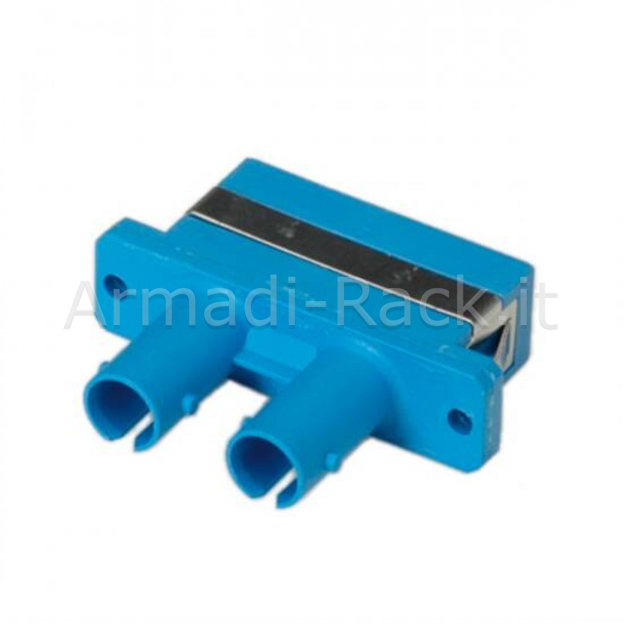 Adattatore fibra ottica st/sc duplex multimode