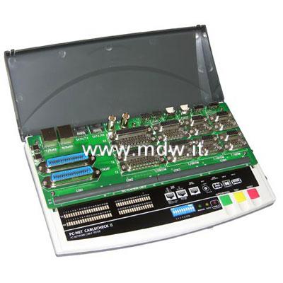 TESTER PER CAVI 9,15,25,36,VGA, BNC,RJ45,USB, FIREWIRE 6 POLI (ACT-PC-PRO)