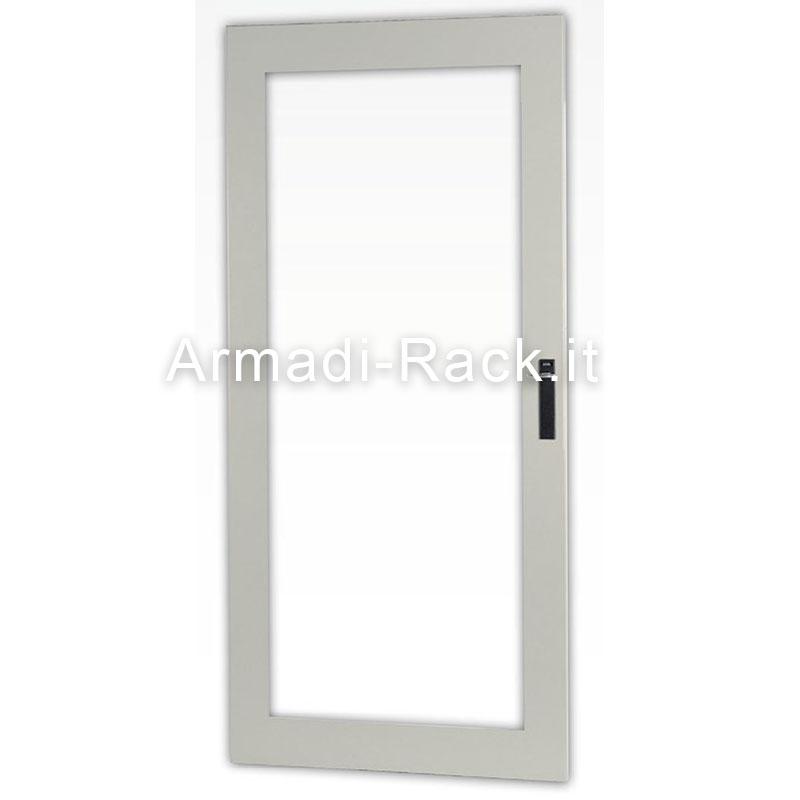 Porta esterna con vetro temprato di spessore 4 mm per - Spessore porta ...