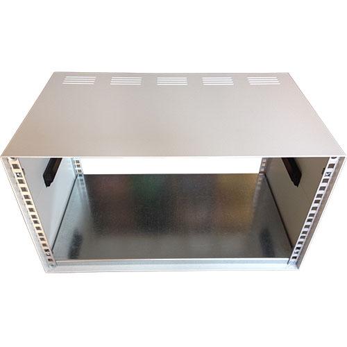 Contenitore standard rack alto 4u (185mm), 84TE/19 pollici (496mm), profondo 200 mm con coperture fessurate