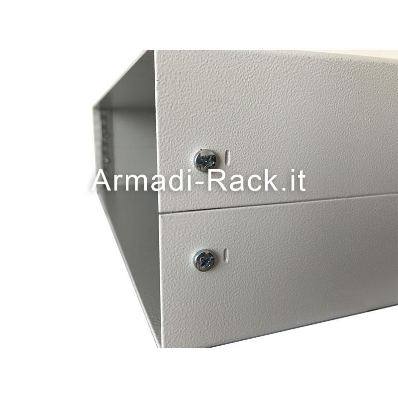 Contenitore standard rack alto 3U (140mm), largo 42TE (282mm), profondo 200 mm