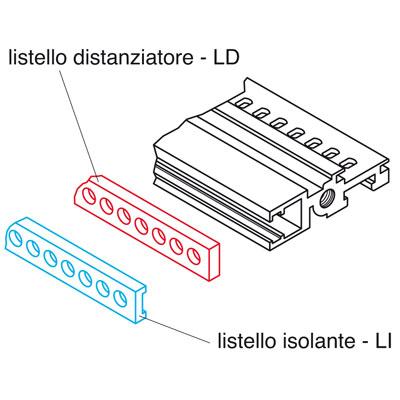 LISTELLO ISOL.84TE C0755