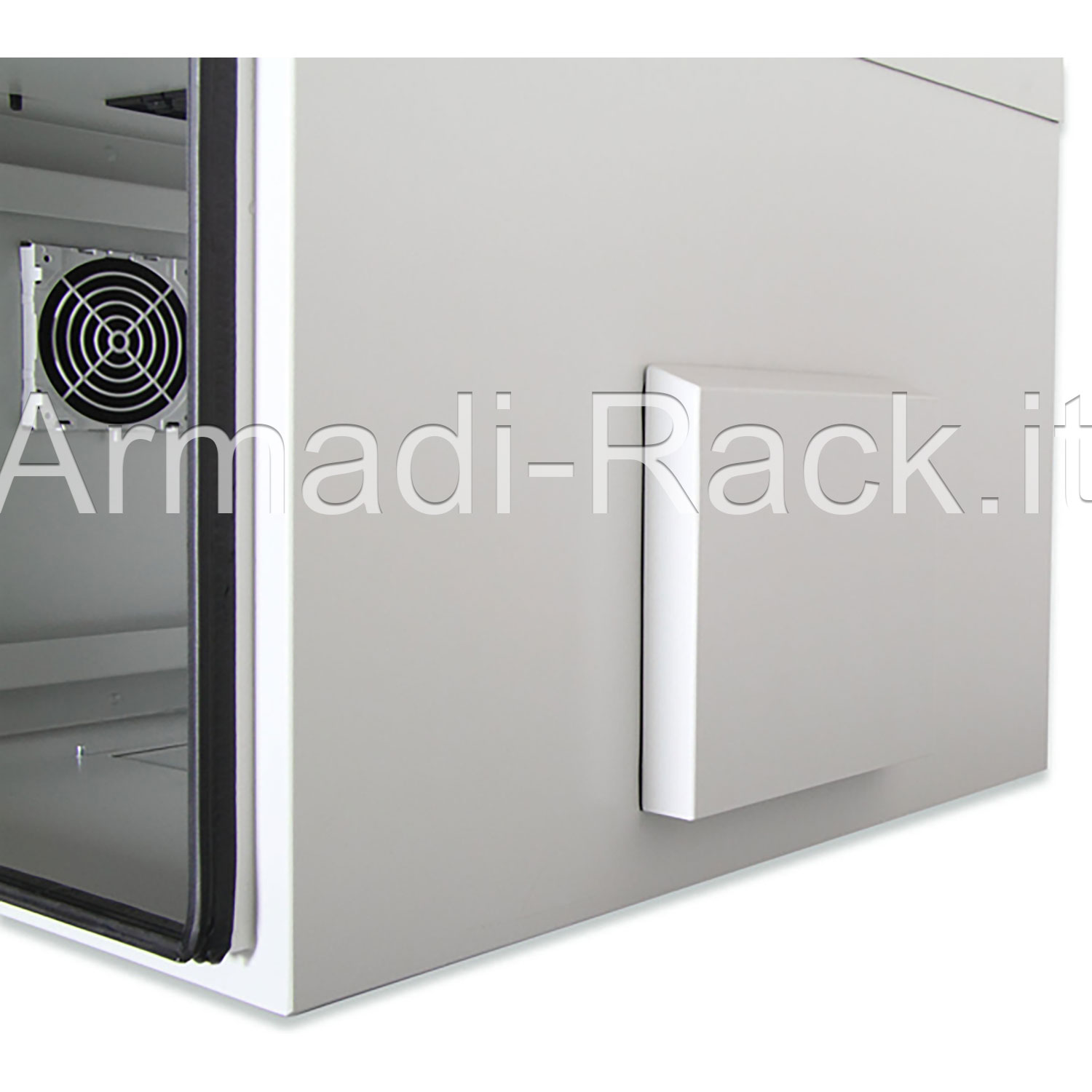 Armadio 16 unità rack per esterno IP55 Outdoor Wall Mounting 19'' Cabinets W=600mm D=600mm