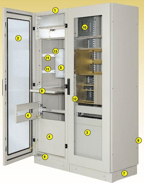 armadio modulare per elettronica