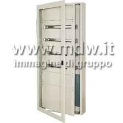 Quadro con porta con oblo' mis. 760Lx1480Hx250