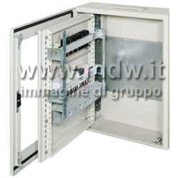 Quadro con porta con oblo' mis. 560Lx480Hx250