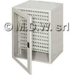 Contenitore da parete per reti monoblocco 11U