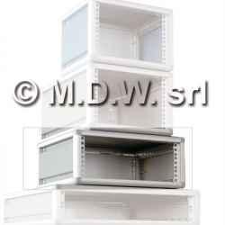 Contenitore per elettronica largo 60TE , desktop cabinets, MODULRACK 2U 129 X 402 X 348