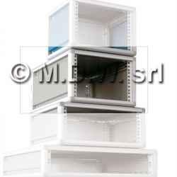 Contenitore per elettronica largo 42te , desktop cabinets, MODULRACK 2U 129 X 311 X 525