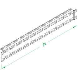supporto superiore ed inferiore per montanti ML in armadi profondi 551 mm