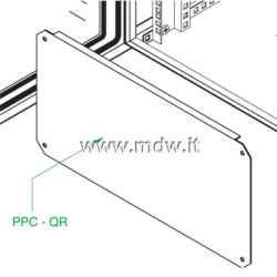 Piastra zincata porta componenti alta 3U