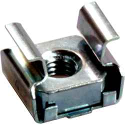 DG-5 dado in gabbia per montaggio in asole quadrate 9,5 x 9,5 mm con filetto dado M5
