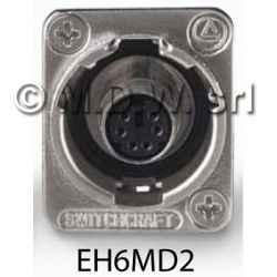 EH connettore passante 6 PIN MINI-DIN/ PS2