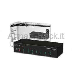Switch Selettore Video Vga 15 Poli 8 Pc 1 Monitor con Telecomando (Ds-46100)