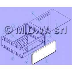 Posteriore Crc 2U Alluminio