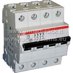 S529211 Interruttore magnetotermico 4P, 16A, 6-10kA